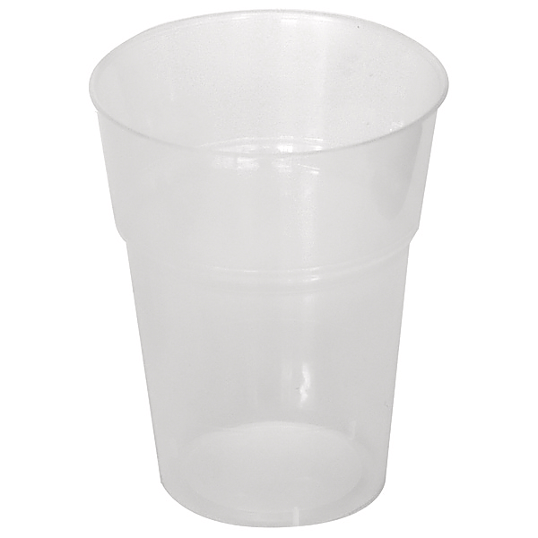 Clear Plastic Cups 425ml