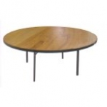6ft Round Table – Seats 8-10 People