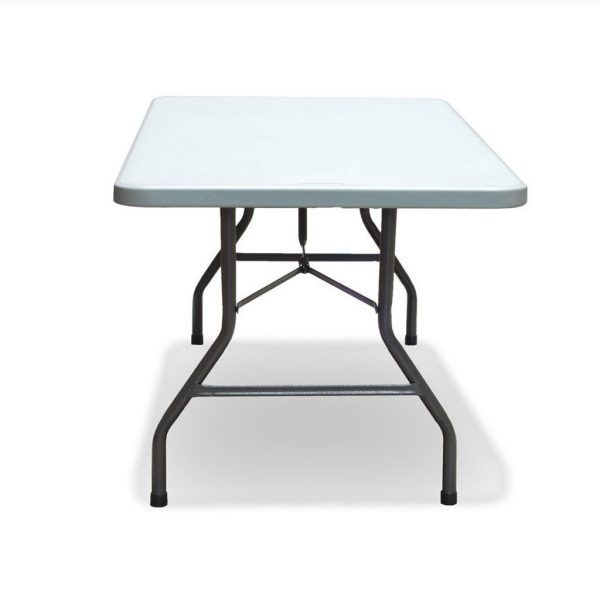 8FT Extra wide Trestle Tables Plastic