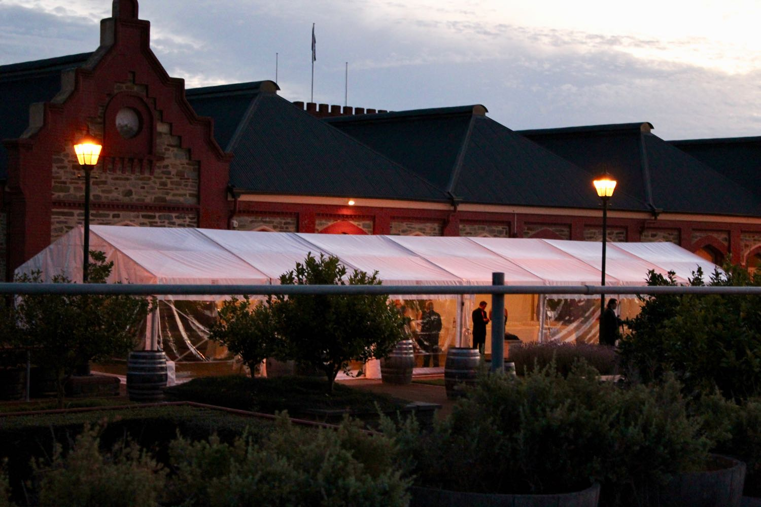 Night Function marquee 6m x 21m