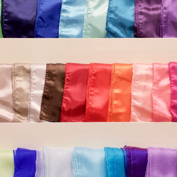 Satin or Organza Sashes for chair bows