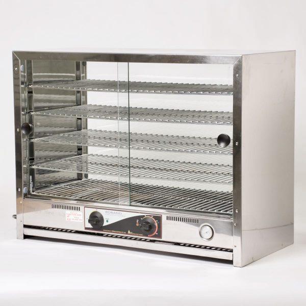 Pie Warmer, glass doors