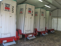 Toilet, Trailer Mounted portable