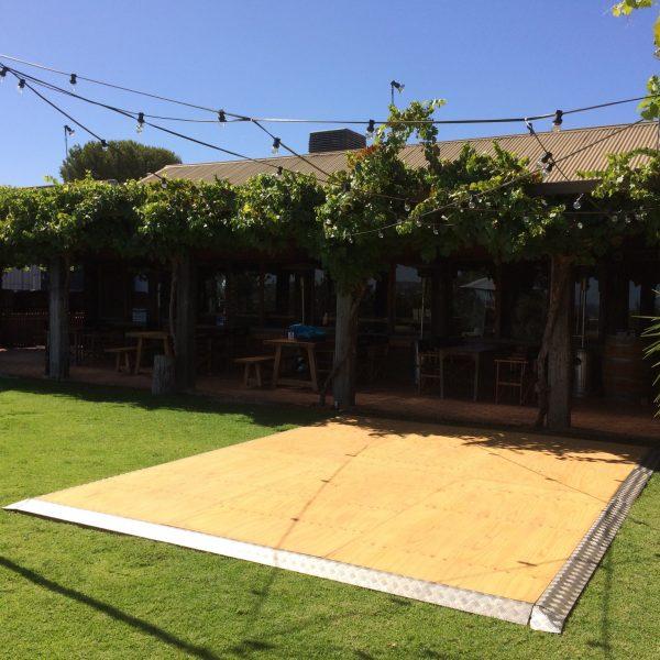 Flooring, Natural Timber Dancefloor