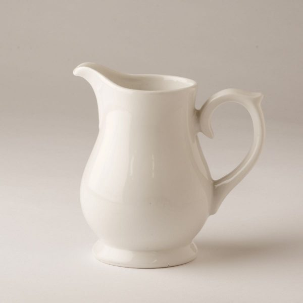 Milk Jug white 240ml