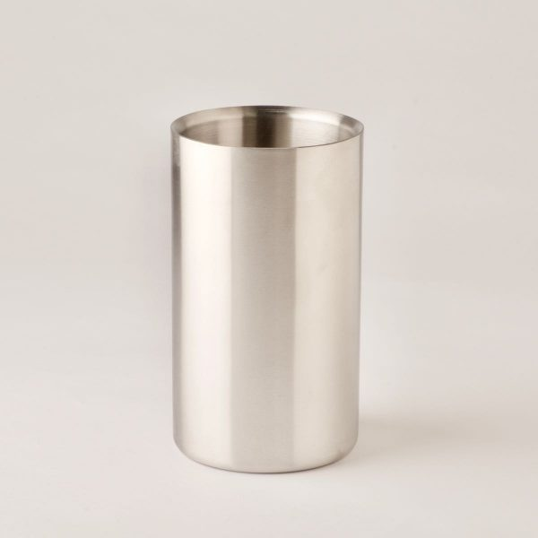 Wine Cooler, brushed stainless steel, single bottle
