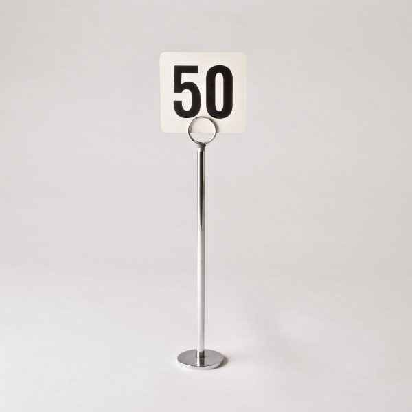 Table Numbers with  Stands