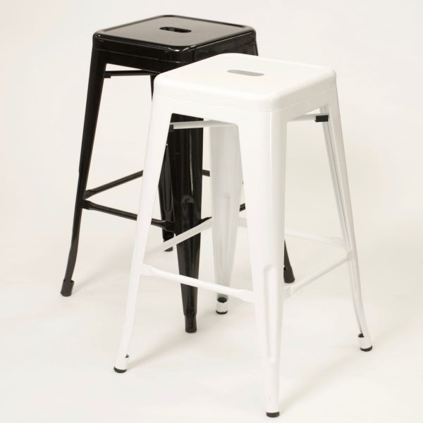 Bar Stool, Tolix Style black or white