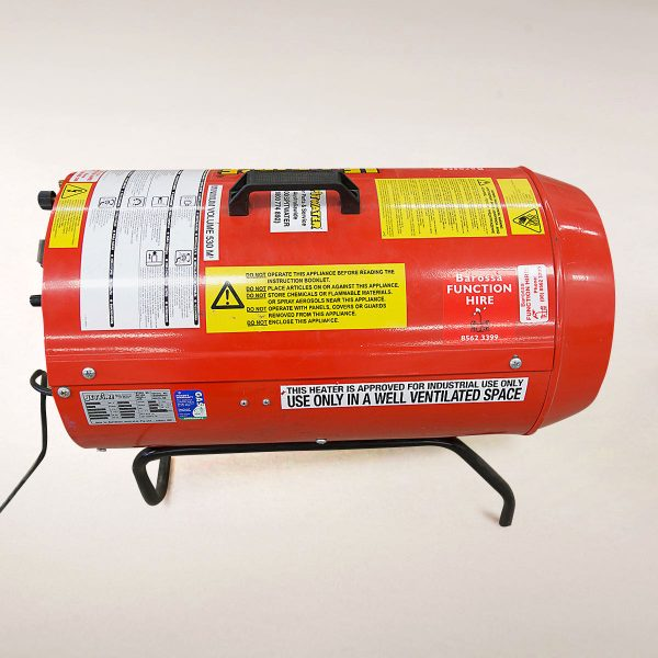 Jet Fire Heater (inc gas – 9kg bottle)
