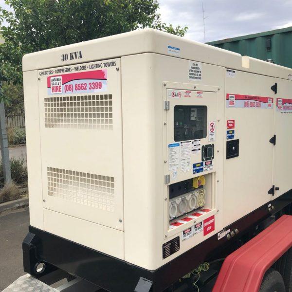 30KVA Generator – Trailer Mounted