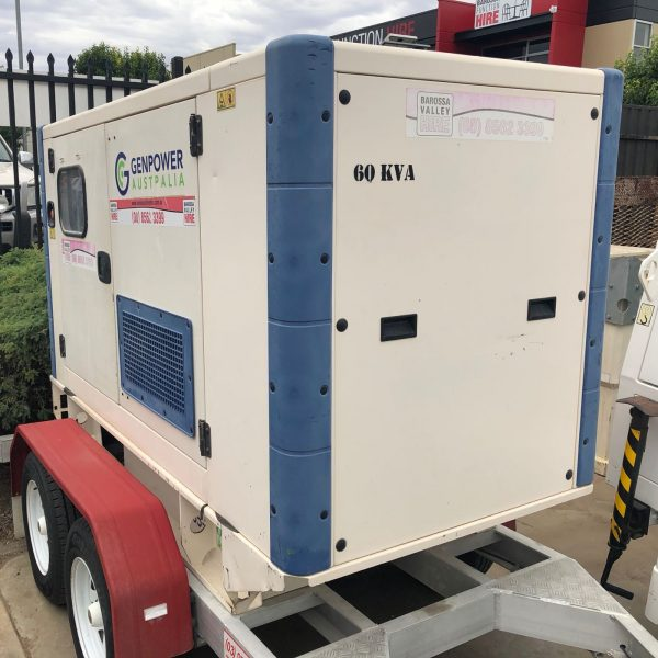 60KVA Generator – Trailer Mounted