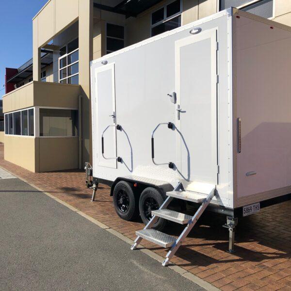Luxury Twin Toilet Trailerfor Weddings & Events