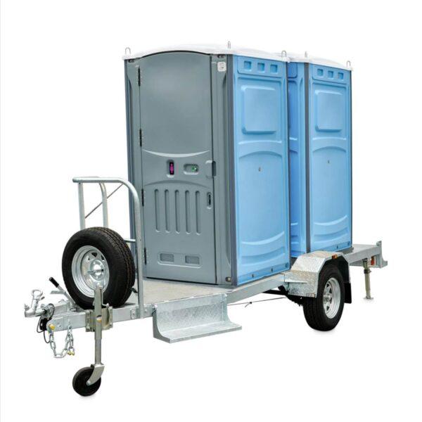 Double Trailer Toilet